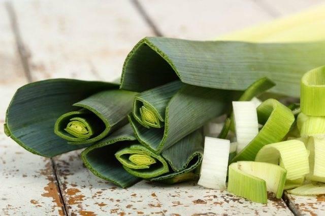 Лук порей – польза и вред необычного овоща
