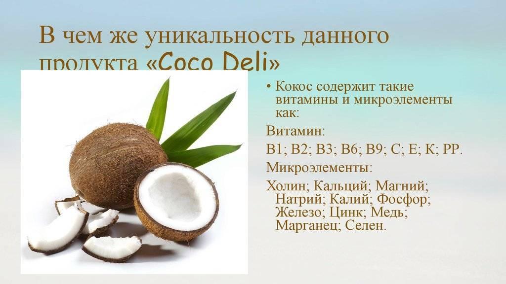 Кокос: сколько калорий, чем полезен, как выбрать и открыть, с чем сочетается