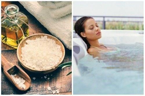 Ванна с морской солью. польза и вред для детей, похудения, ног. рецепты, отзывы