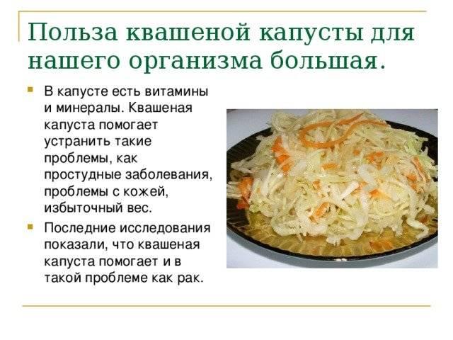 """""""польза и вред квашеной капусты, лечебные свойства и рецепты приготовления"""""""