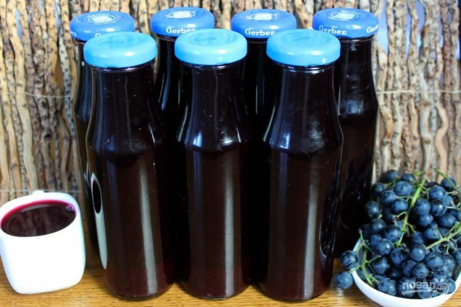 Польза и вред виноградного сока для организма человека