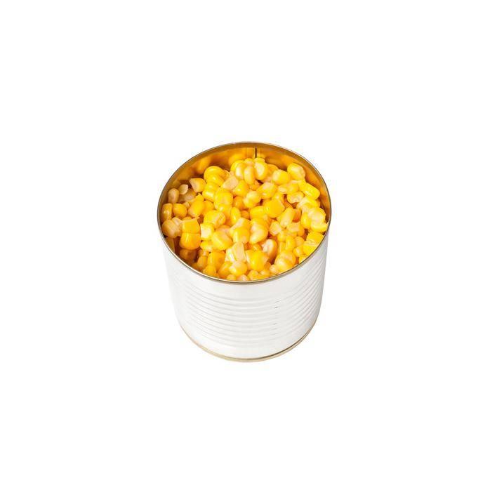 Кукуруза консервированная вес в банке