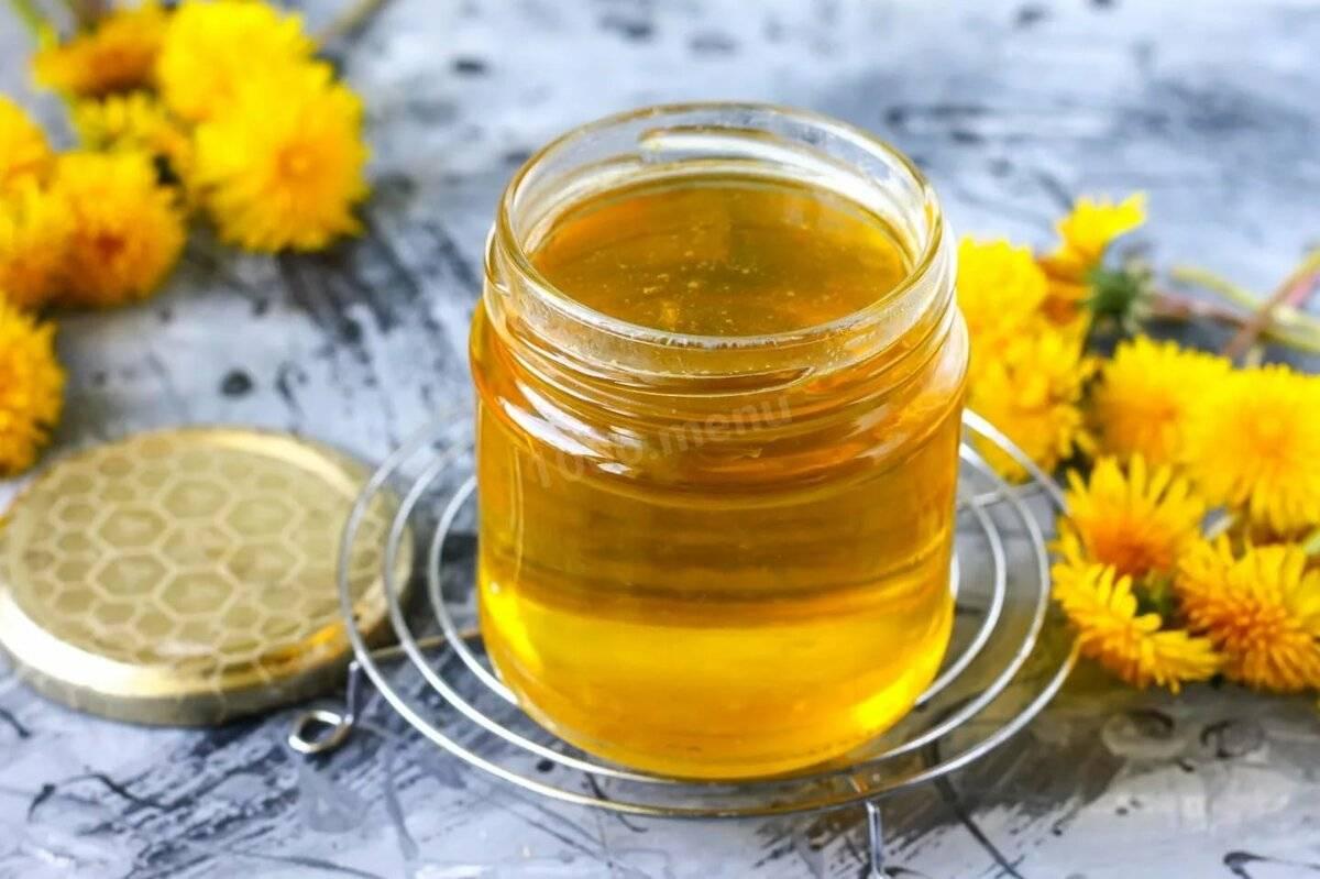 Мед из одуванчиков – польза и вред