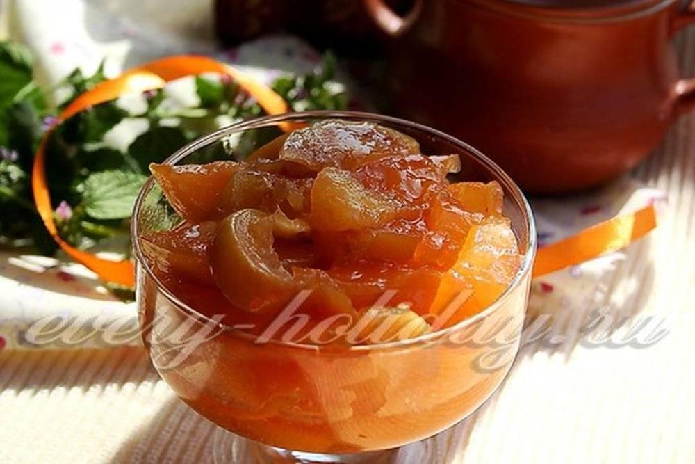 Варенье из айвы — самые вкусные рецепты