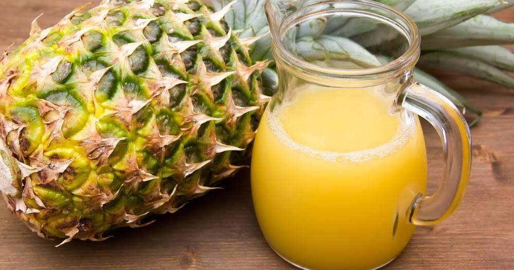 Чем полезен свежевыжатый ананасовый сок для здоровья