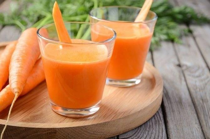 Морковный сок: польза и вред, правила приема