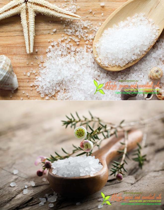 Морская соль – польза, применение, лечение