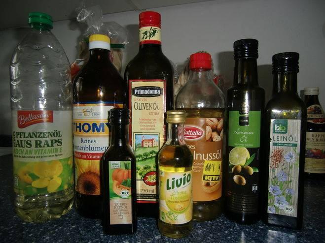 Определяем лучшее растительное масло для жарки