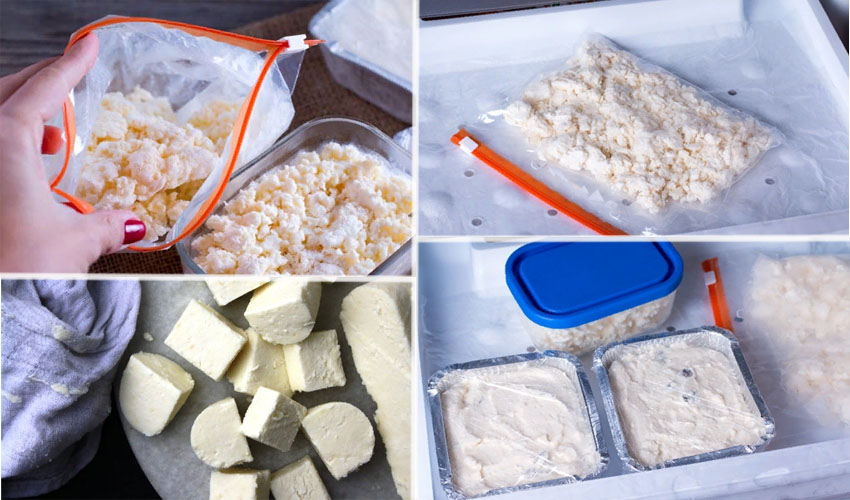 Можно ли замораживать творог в морозилке?