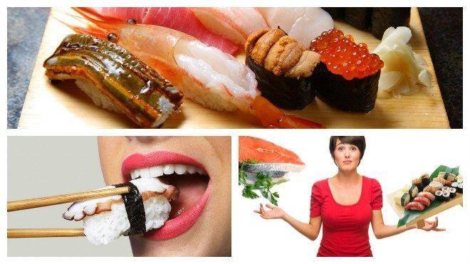 Вы точно знаете, что можно есть суши?