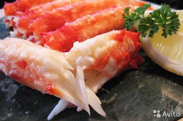 Крабовое мясо: польза и вред для здоровья и при похудении