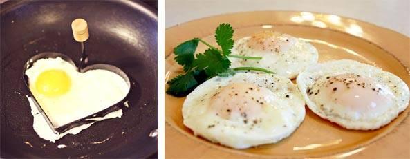 Чем полезна и вредна яичница на завтрак, на ужин