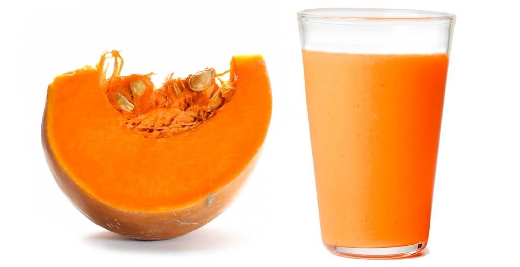 Сок тыквы – полезные свойства и противопоказания для женщин, мужчин и детей