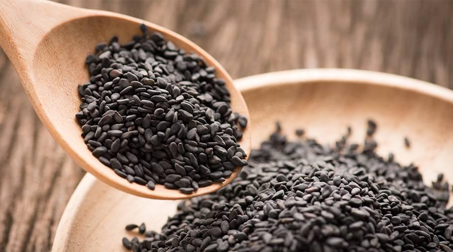 Как правильно употреблять черный кунжут: польза и вред суперфуда