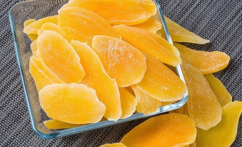 Манго сушеный. польза и вред для организма, калорийность на 100 грамм с сахаром и без