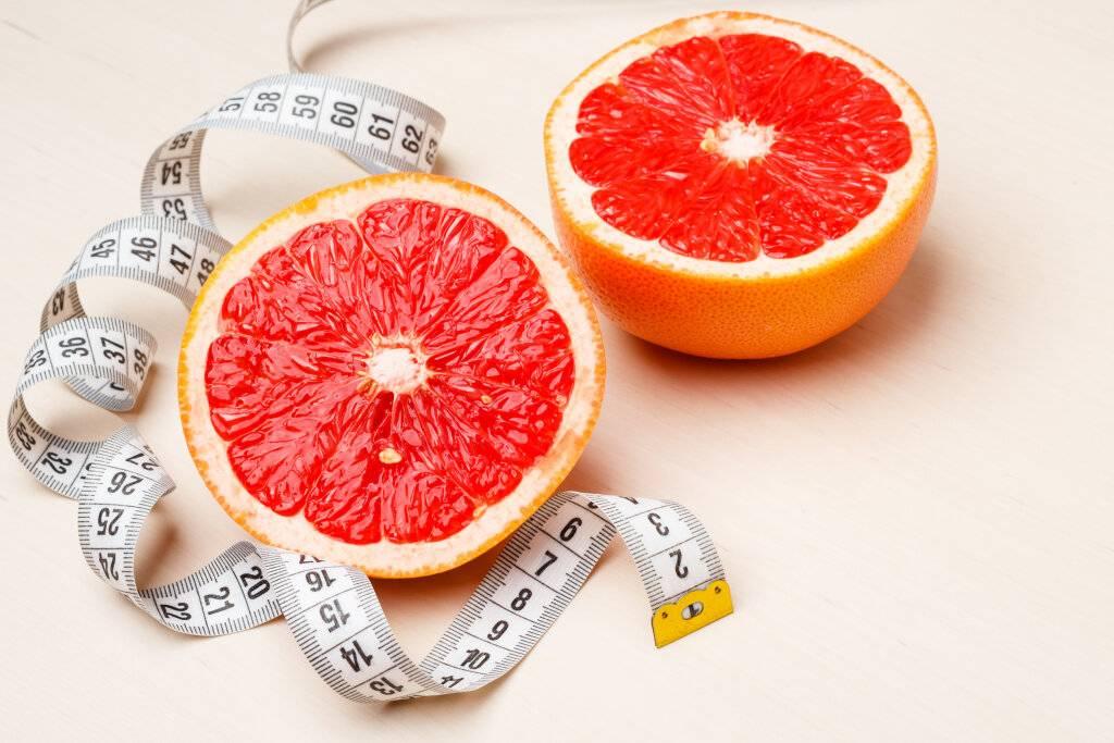 Грейпфрут – калорийность, польза и вред при похудении