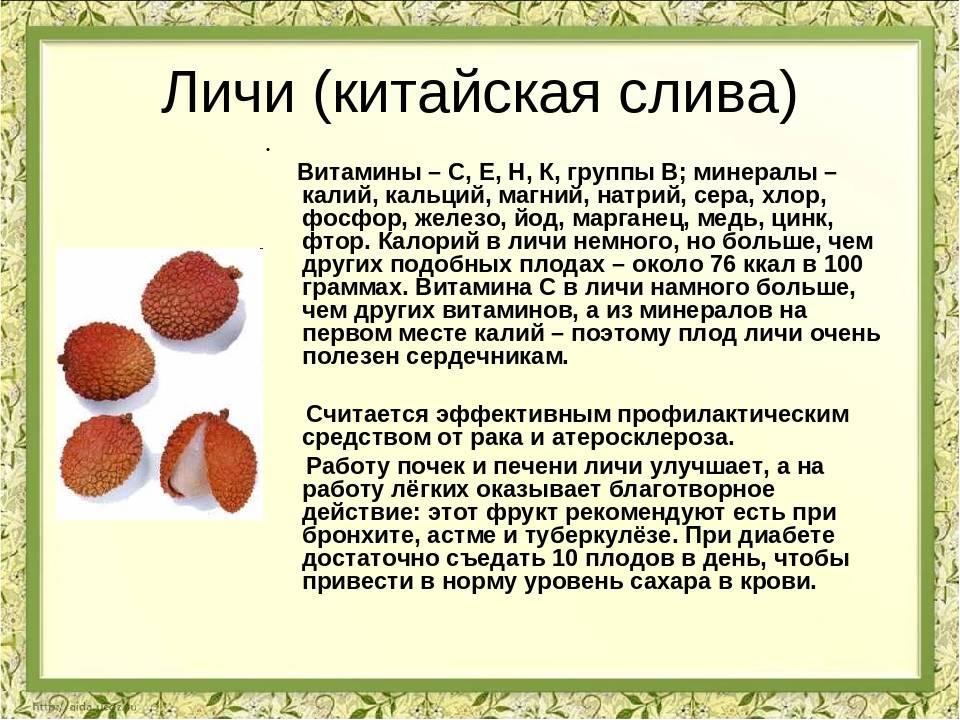 Чем так полезен экзотический фрукт личи (все свойства)