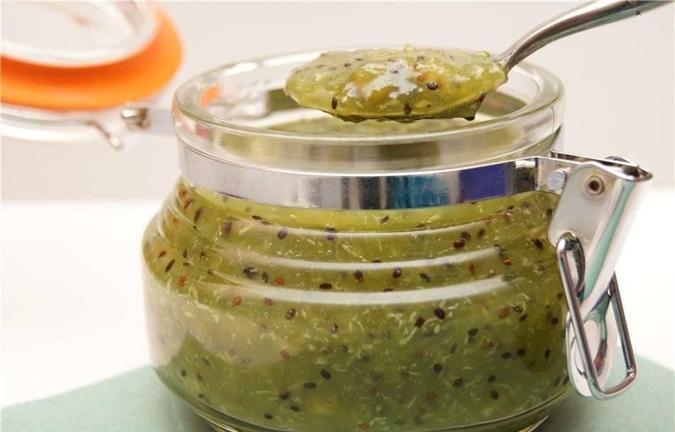Рецепт очень вкусного и необычайно красивого варенья из киви