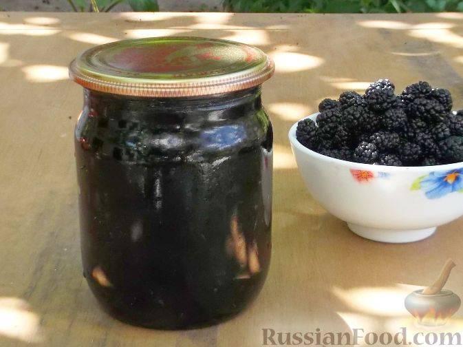Варенье из тутовника. варенье из шелковицы: рецепты приготовления