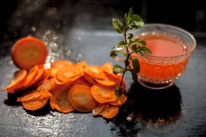 Морковный чай полезные свойства