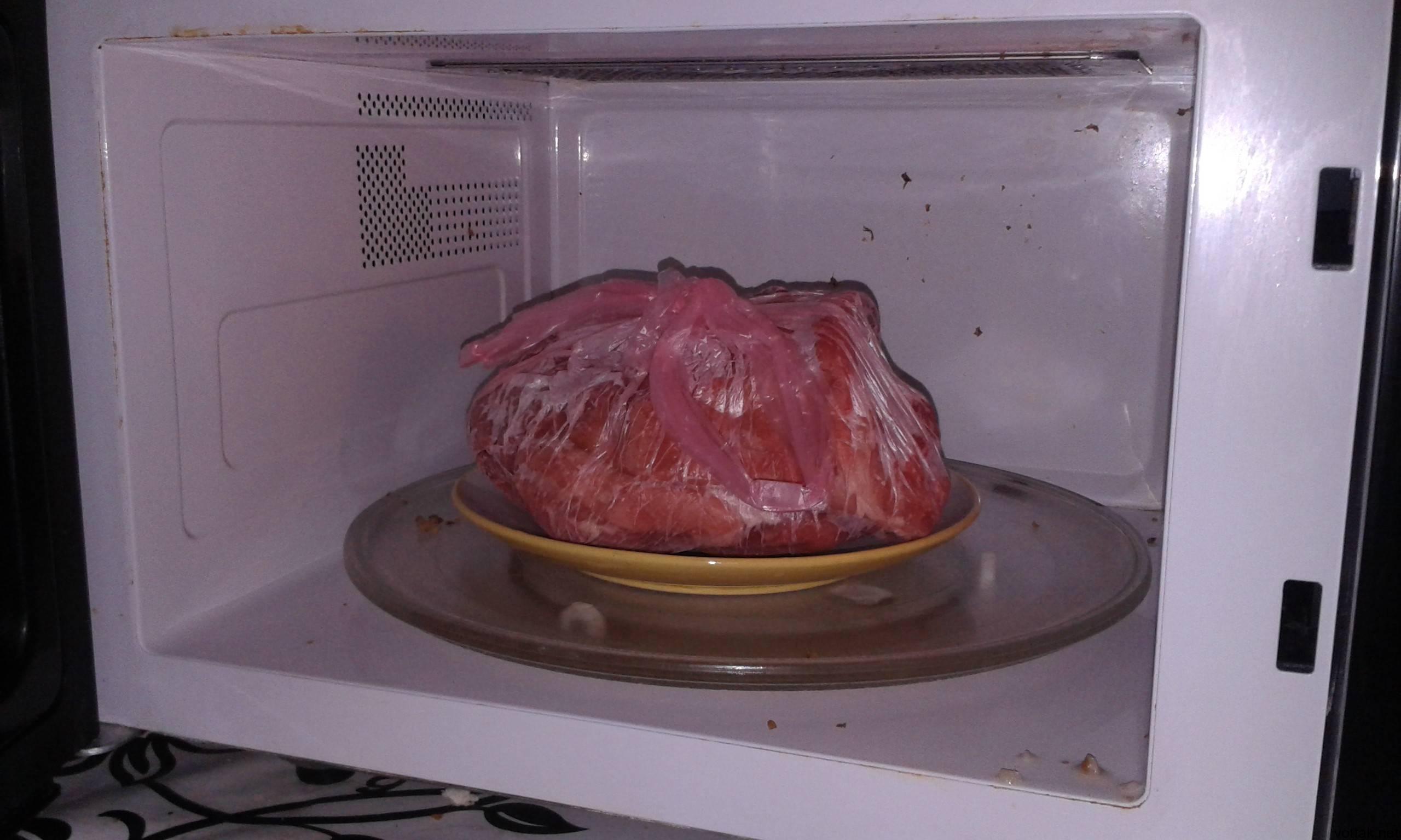 Как быстро разморозить курицу: способы разморозки в домашних условиях