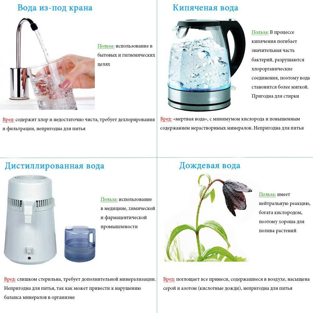 Полезна ли кипяченая вода