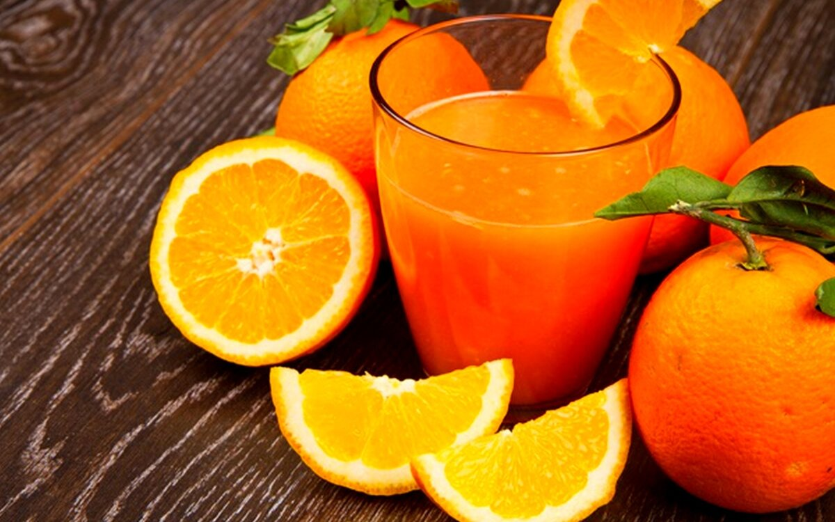 Польза и вред апельсинового сока