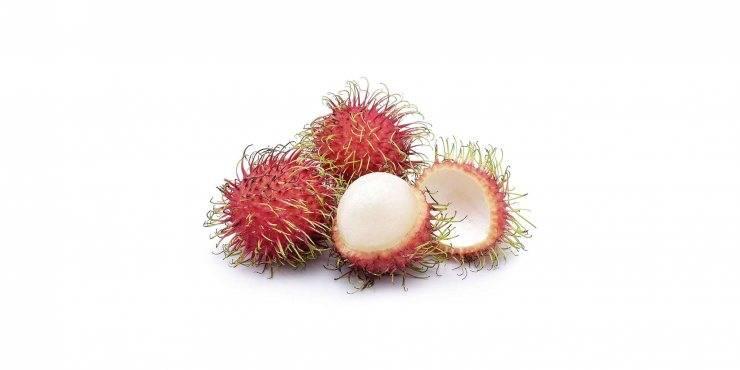 Рамбутан (фрукт): полезные свойства, как его едят