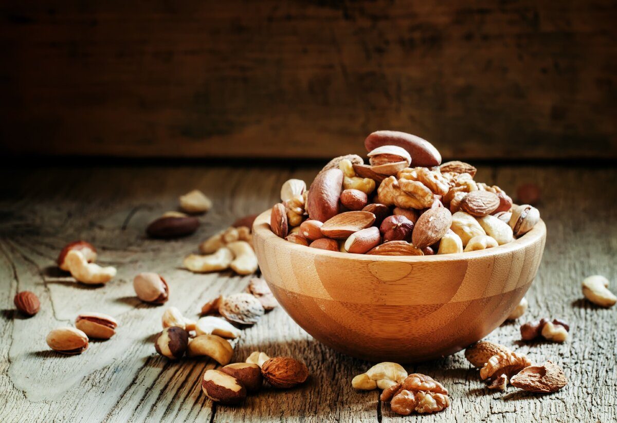 Какие орехи полезны для потенции