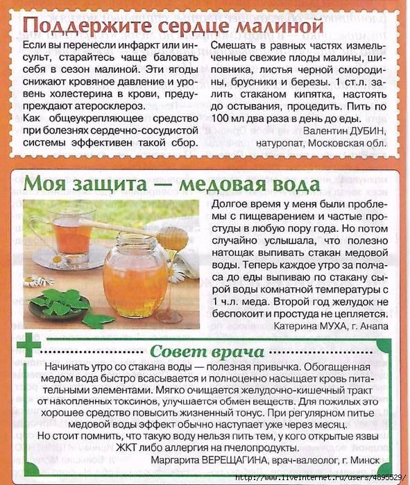 Мёд с водой натощак: невероятная польза напитка