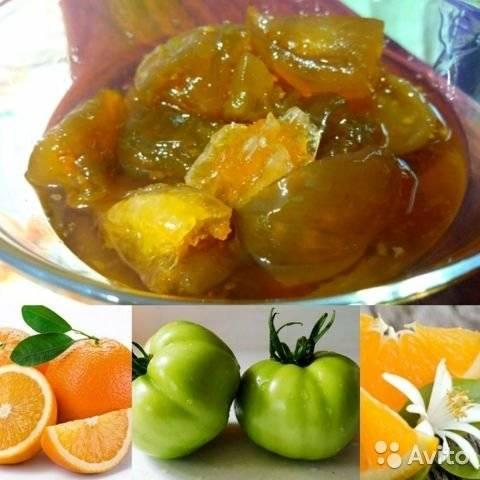 Варенье из зеленых помидор рецепт