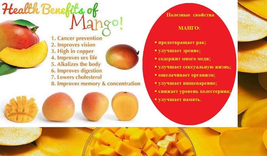 Чем полезен манго: польза и вред для организма