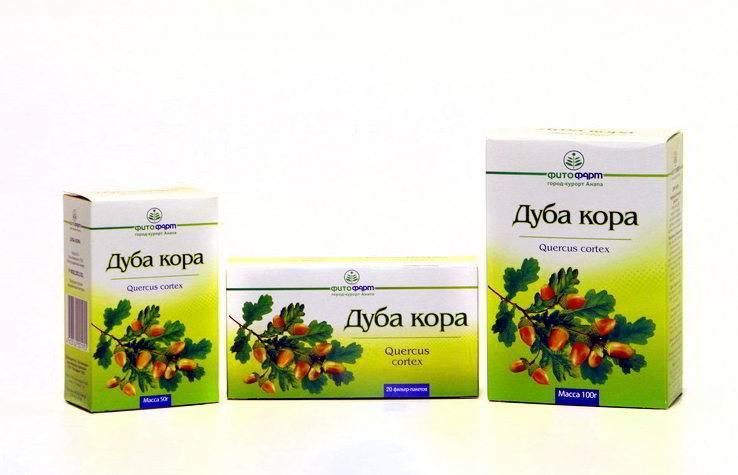 Дубовая кора. лечебные свойства, рецепты применения для мужчин, женщин. противопоказания