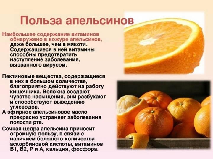 Об апельсиновой корке и её полезных свойствах