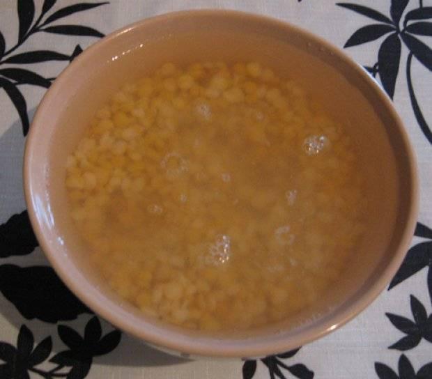 Как сварить гороховую кашу — пошаговый рецепт