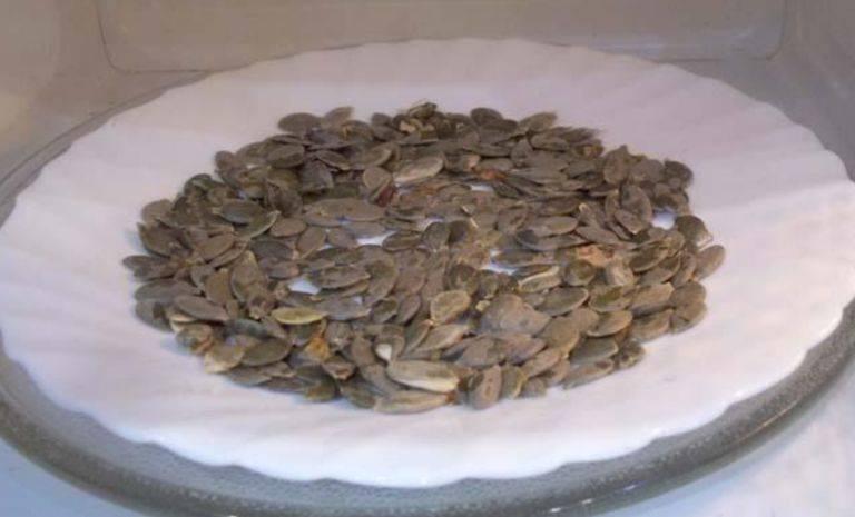 Как подсушить тыквенные семечки в духовке. как можно сушить тыквенные семечки: несколько простых способов