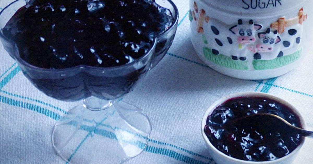 Черничное варенье рецепт  как можно сварить, польза