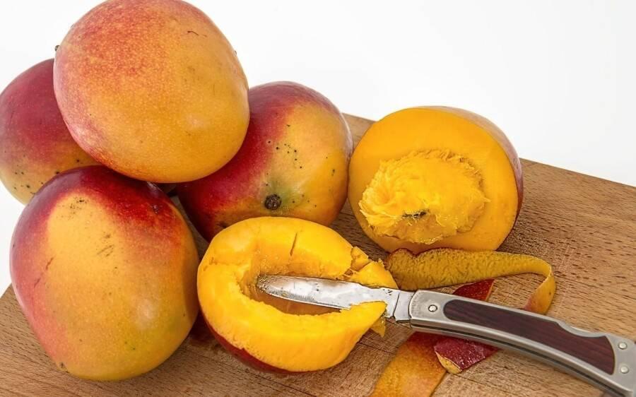 Польза кожуры манго