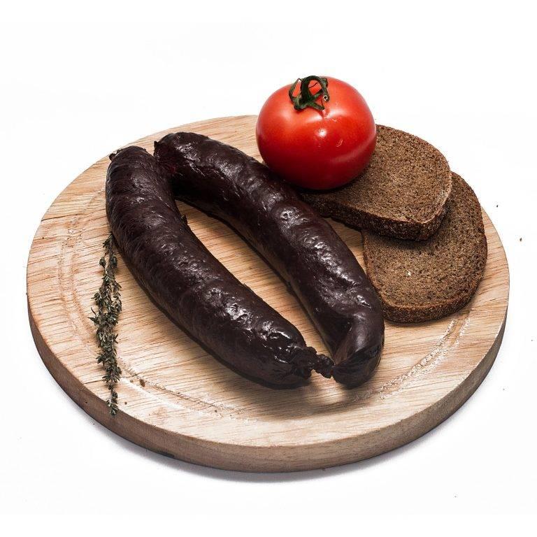 Кровяная колбаса польза и вред