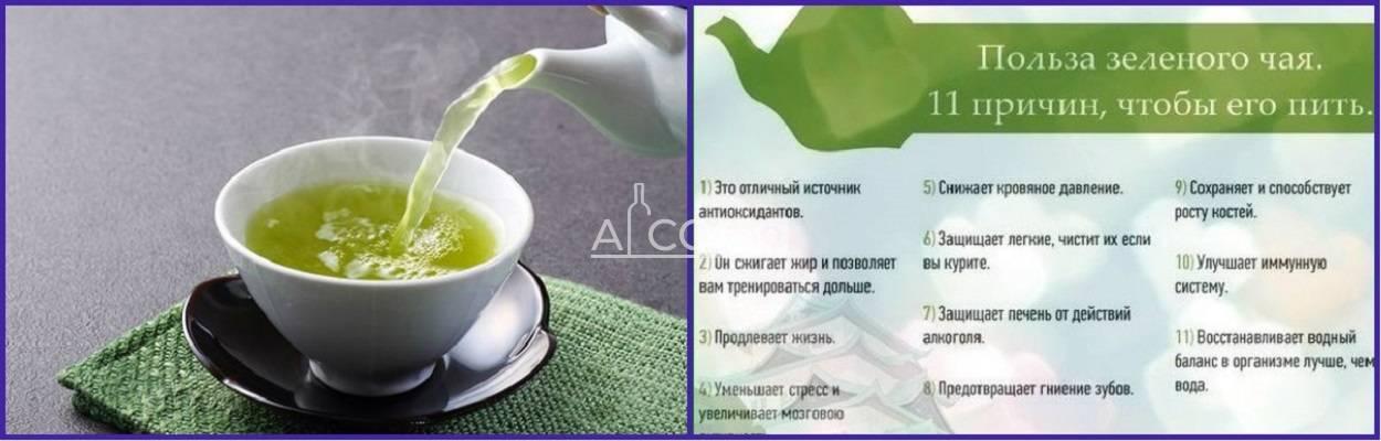 Какая польза от зеленого чая и будет ли от него вред?