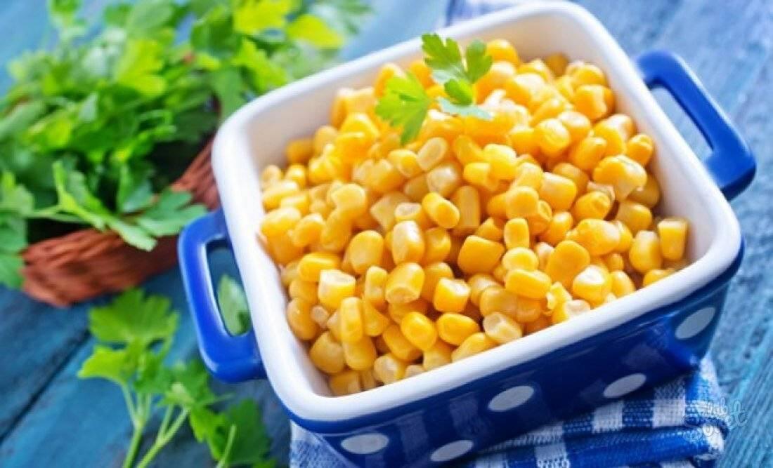 Консервированная кукуруза: польза и вред, калорийность