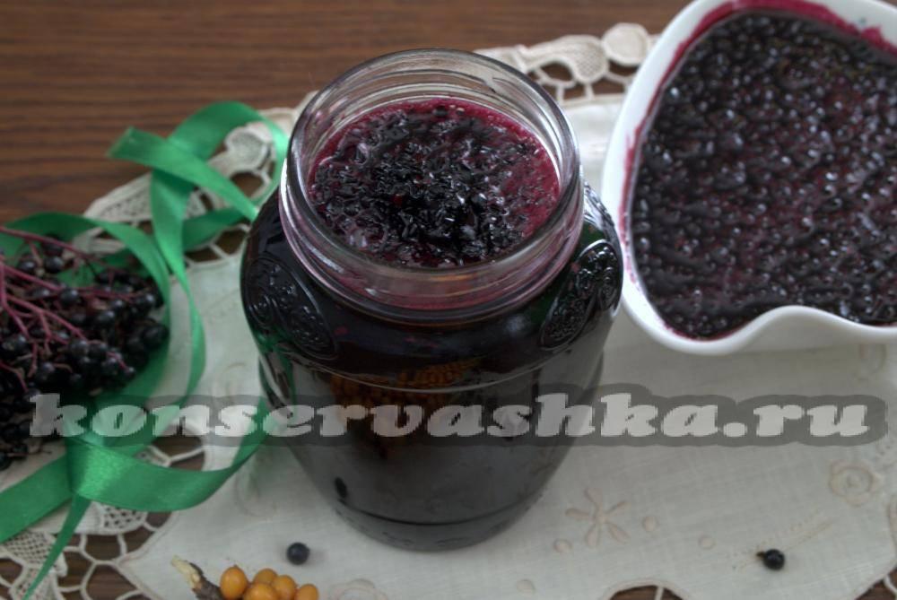 Варенье из черной бузины: 7 рецептов приготовления