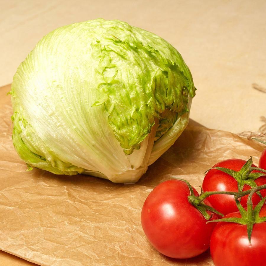 Рецепты с салатом айсберг для тех, кто худеет и не только
