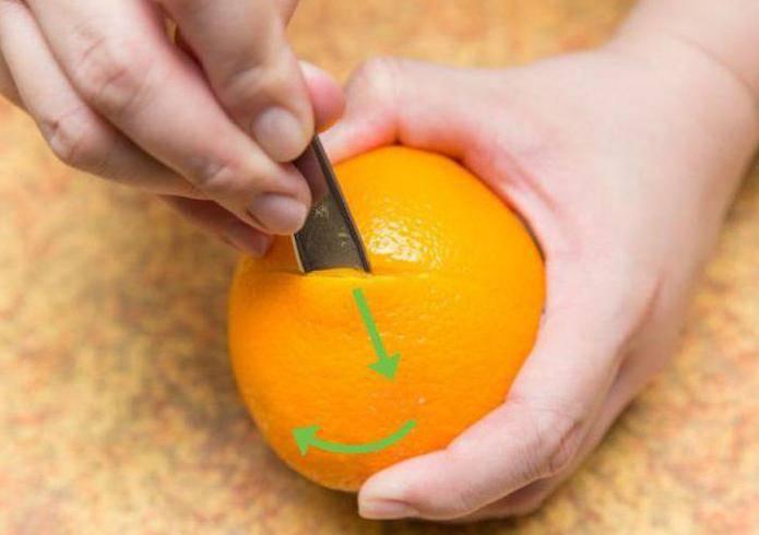 Основные способы чистки грейпфрута