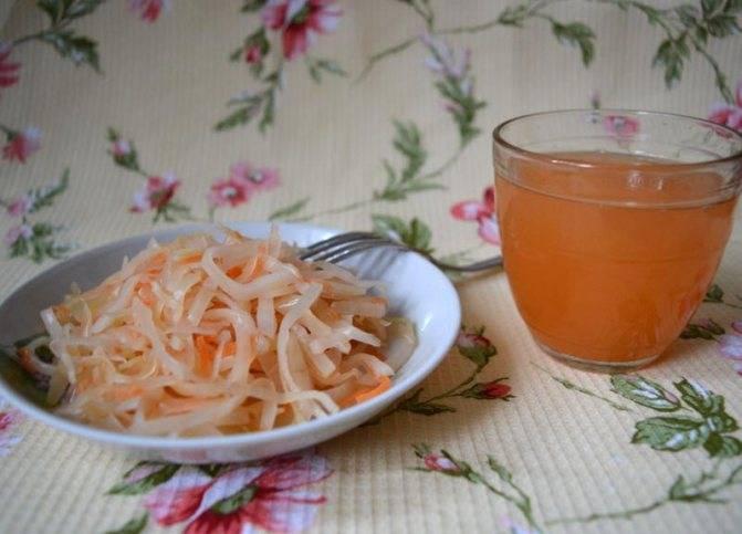 Какая польза и вред от употребления сока квашеной капусты?
