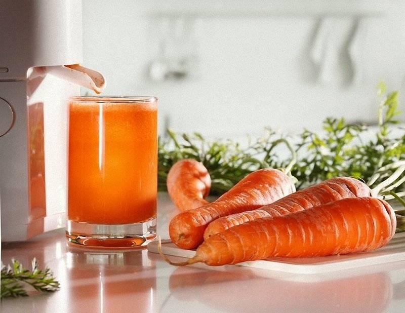 Свежевыжатый морковный сок — польза и вред