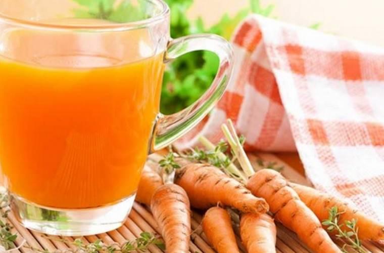 Приготовления чая из ботвы моркови