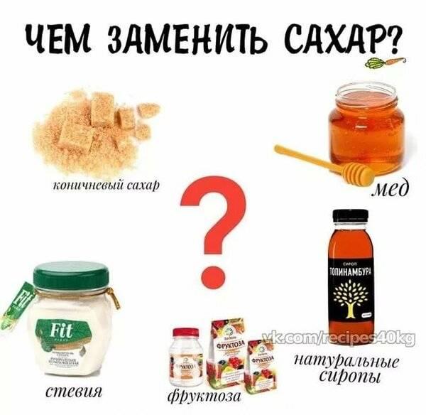 Что использовать вместо сахара в выпечке, блинах и десертах
