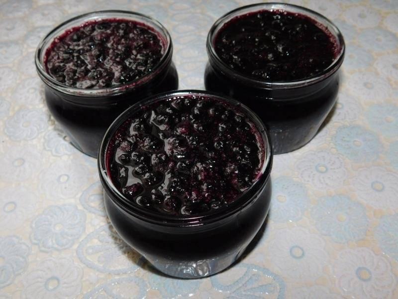Варенье из черники: рецепт на зиму с фото пошагово