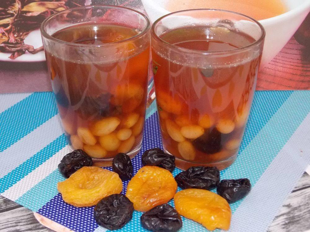 Чем полезен компот из сухофруктов, пошаговый рецепт с фото